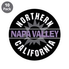 "Napa Valley California 3.5"" Button (10 pack)"