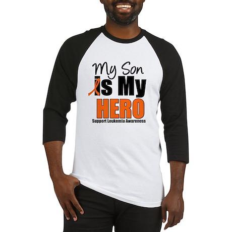 Leukemia Hero (Son) Baseball Jersey