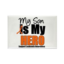 Leukemia Hero (Son) Rectangle Magnet