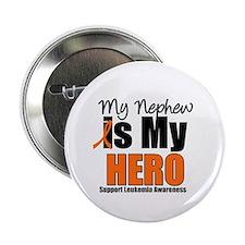 """Leukemia Hero (Nephew) 2.25"""" Button (10 pack)"""