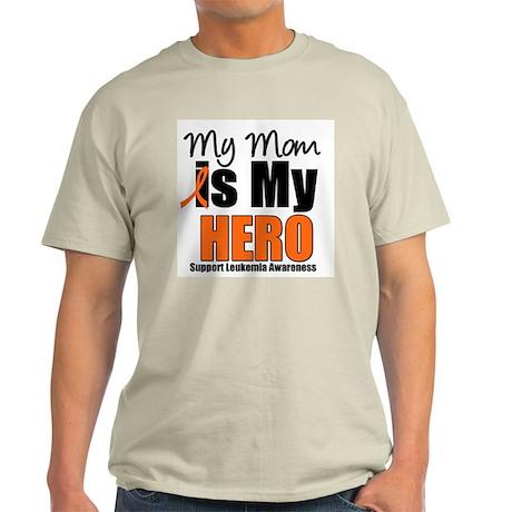 Leukemia Hero (Mom) Light T-Shirt