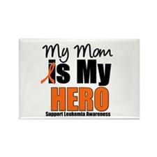 Leukemia Hero (Mom) Rectangle Magnet