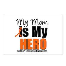 Leukemia Hero (Mom) Postcards (Package of 8)