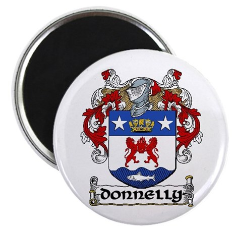 "Donnelly Coat of Arms 2.25"" Magnet (10 pack)"