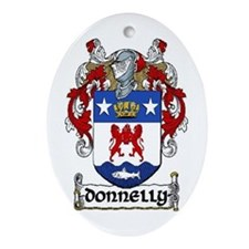 Donnelly Coat of Arms Keepsake Ornament