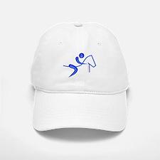Equestrian Horse Blue Baseball Baseball Cap