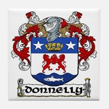 Donnelly Coat of Arms Ceramic Tile