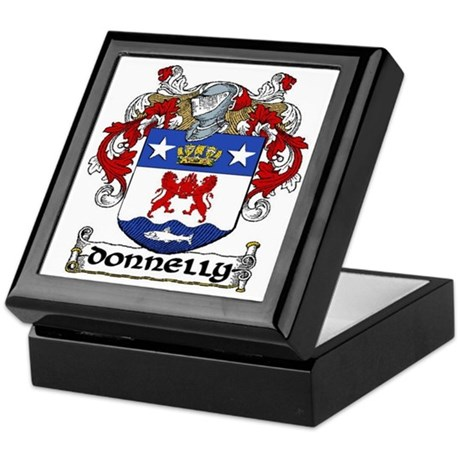 Donnelly Coat of Arms Keepsake Box