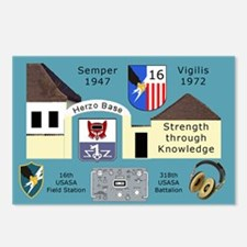 USASA Field Station Herzo Base Postcards (Pk of 8)