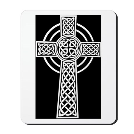 Celtic Cross Mousepad