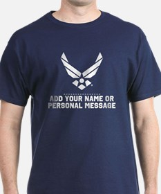 PERSONALIZED USAF Logo T-Shirt