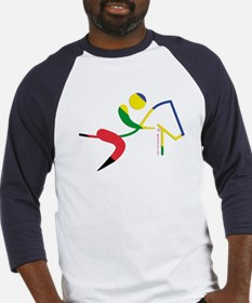 Equestrian Horse Olympic Baseball Jersey