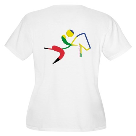 Equestrian Horse Olympic Women's Plus Size V-Neck