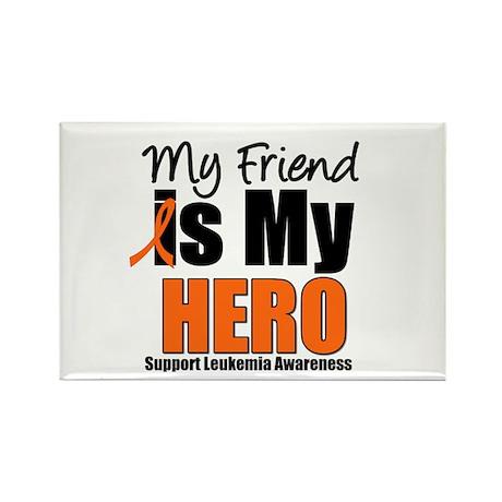 Leukemia Hero (Friend) Rectangle Magnet