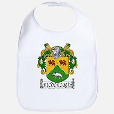 McDonough Coat of Arms Bib