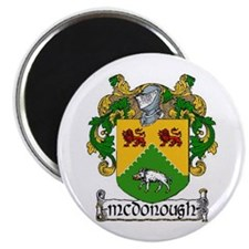 """McDonough Coat of Arms 2.25"""" Magnets (10 pack)"""