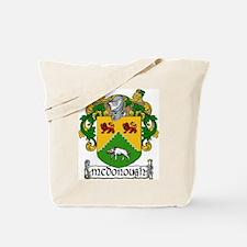 McDonough Coat of Arms Tote Bag