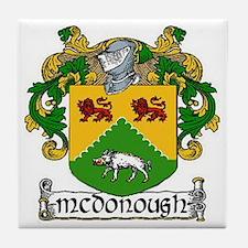 McDonough Coat of Arms Ceramic Tile