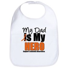Leukemia Hero (Dad) Bib