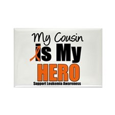 Leukemia Hero (Cousin) Rectangle Magnet