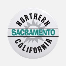 Sacramento California Ornament (Round)