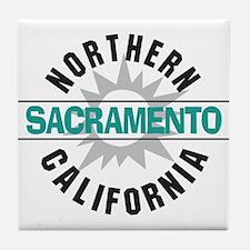 Sacramento California Tile Coaster