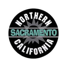 """Sacramento California 3.5"""" Button"""