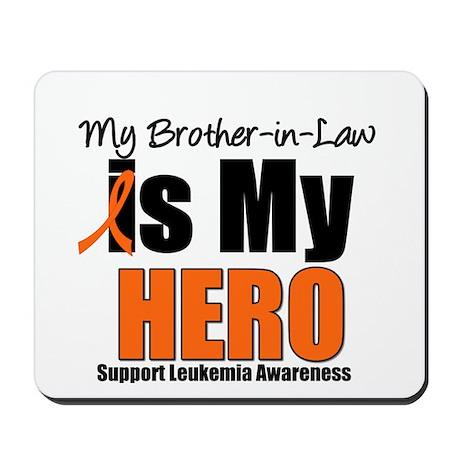 Leukemia Hero (BIL) Mousepad
