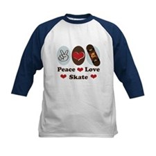 Peace Love Skate Skateboard Tee