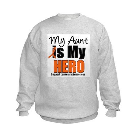 Leukemia Hero (Aunt) Kids Sweatshirt