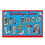 Greetings From Del Boca Vista Postcards (Pkg of 8)