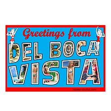 Greetings From Del Boca Vista Postcards (Pkg of 8)