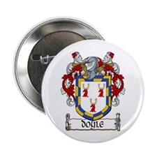 """Doyle Coat of Arms 2.25"""" Button (10 pack)"""