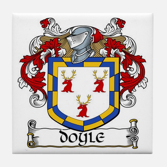 Doyle Coat of Arms Ceramic Tile