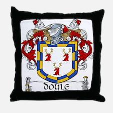 Doyle Coat of Arms Throw Pillow