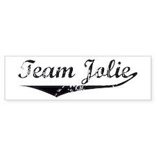 Team Jolie Bumper Bumper Sticker