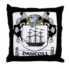 Driscoll Coat of Arms Throw Pillow