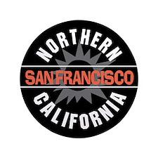 "San Francisco California 3.5"" Button (100 pack)"