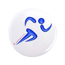 "Running Blue 3.5"" Button"