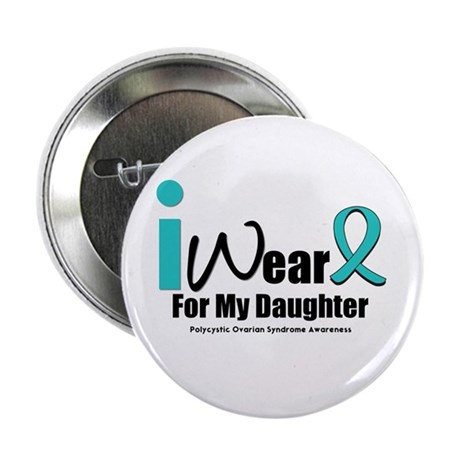 "PCOS Awareness 2.25"" Button"