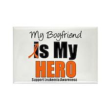 Leukemia Hero (Boyfriend) Rectangle Magnet