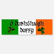 Duffy in Irish & English Bumper Bumper Bumper Sticker