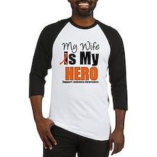 Leukemia Hero (Wife) Baseball Jersey