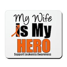 Leukemia Hero (Wife) Mousepad