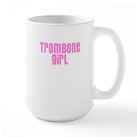 Trombone Girl Large Mug