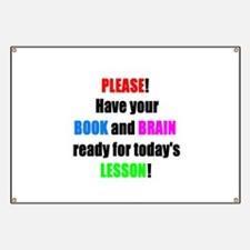 Have your BOOK and BRAIN read Banner