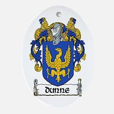 Dunne Coat of Arms Keepsake Ornament