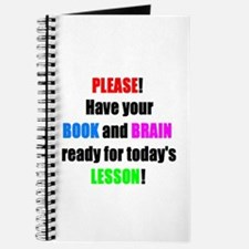 Have your BOOK and BRAIN read Journal