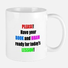Have your BOOK and BRAIN read Mug