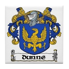 Dunne Coat of Arms Ceramic Tile